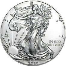 2020 USA $1 American Eagle 1oz Silver Coin