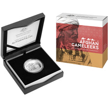 2020 50c Afghan Cameleers Silver Proof Coin