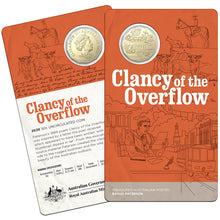 2020 50c  Banjo Paterson - Clancy of the Overflow Al-Br Unc