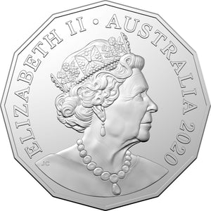 2020 50c 50th Anniv. of the Indian Pacific Unc