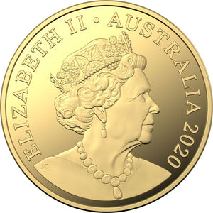 2020 $30 Qantas Centenary 1kg Silver Proof Coin -