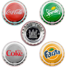 2020 Fiji $1 Coke Bottlecap Silver Coin Collection
