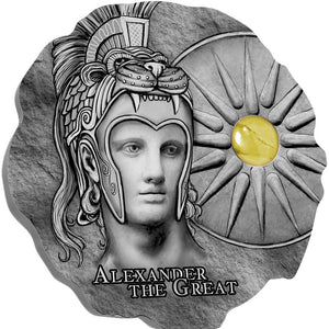 2020 Cameroon 500Fr Alexander the Great Silver Coin