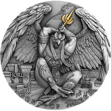 2020 Niue $2 Gods of Anger - Horus 2oz Silver Coin