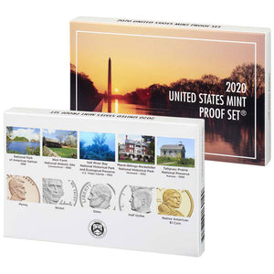 2020 USA Annual Proof Coin Set
