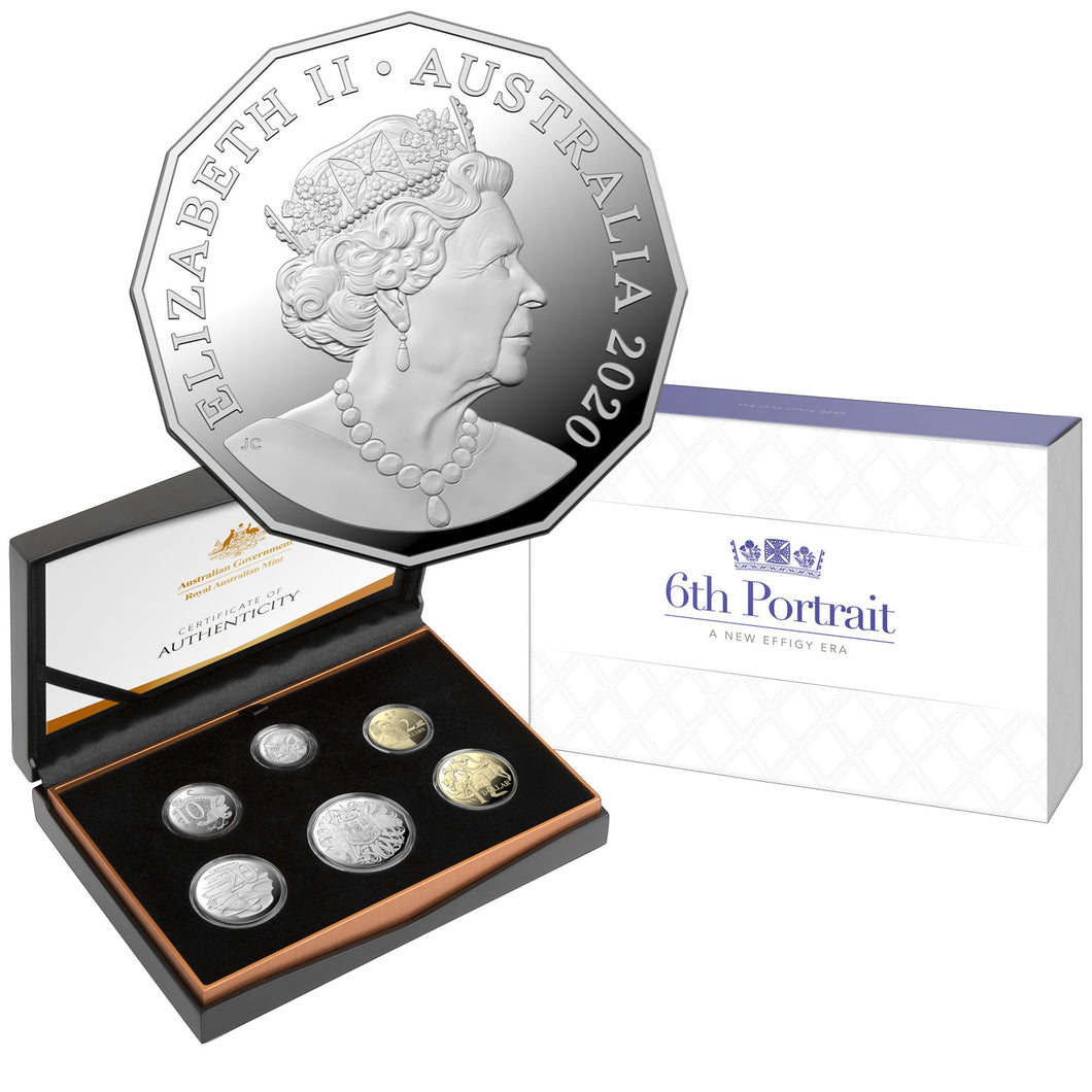 2020 Annual Proof Coin Set - 1st Jody Clark Effigy