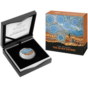 2020 $1 Star Dreaming - Seven Sisters 1/2oz Silver Proof