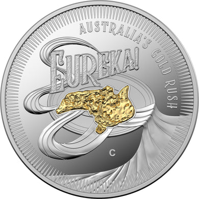 2020 $1 Eureka Silver Proof Coin