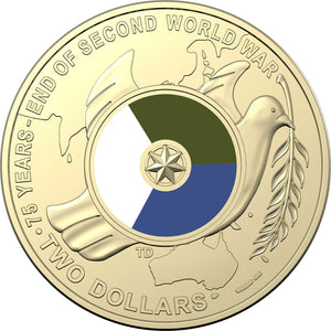 2020 $2 75th anniversary of WWII Unc