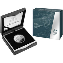 2020 $5 Australian Olympic Team Domed 1oz Silver Proof