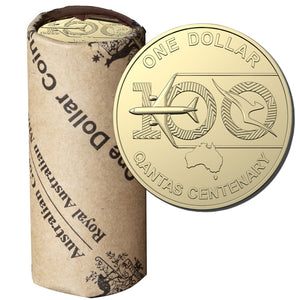 2020 $1 Qantas Centenary Mint Roll