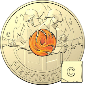 2020 $2 Firefighters 'C' mintmark Unc