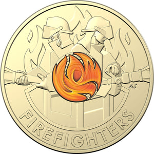 2020 $2 Firefighters Coin-in Card