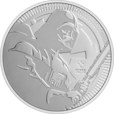 2020 Niue $2 Star Wars - Darth Vader 1oz Silver BU