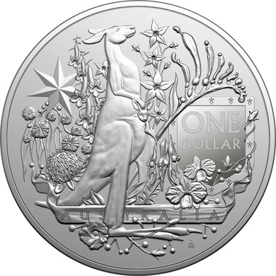 2021 $1 Coat of Arms 1oz Silver BU