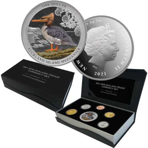2021 NZ Annual Proof Coin Set