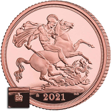 2021 UK Gold Sovereign Proof
