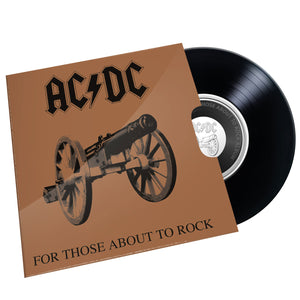 2021 20c AC-DC  For Those About to Rock We Salute You Unc