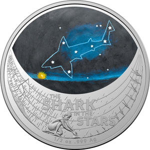 2021 $1 Star Dreaming - Beizam The Shark 1/2oz Silver Coin