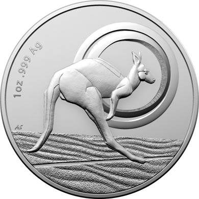 2021 $1 Kangaroo Outback Majesty Silver Frunc Coin