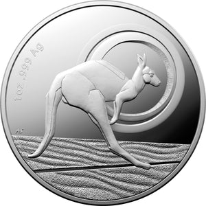 2021 $1 Kangaroo Outback Majesty Silver Proof Coin