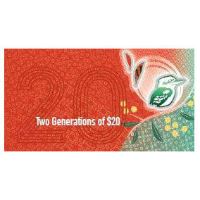 2019 $20 Two Generations Note Folder
