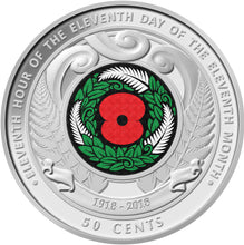2018 NZ 50c Armistice Mint Roll