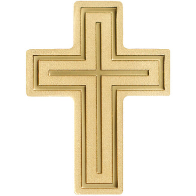 Palau $1 Golden Cross 0.5 g Gold BU