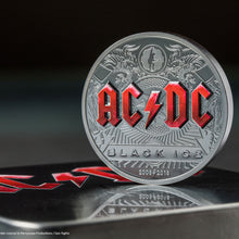 2018 Cook Isl. $10 AC/DC Black Ice 2oz Silver Coin