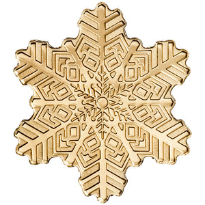 Cook Isl. $5 Snowflake 0.5g Gold Coin