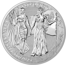 2019 10 Mark Germania & Columbia 2oz Silver BU