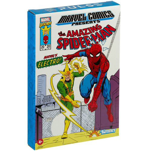 Marvel Legends Retro 3.75 Inch Spiderman & Electro Action Figure Set
