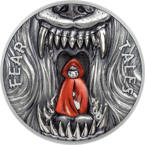 2019 Palau $10 Red Riding Hood 2oz Silver Coin