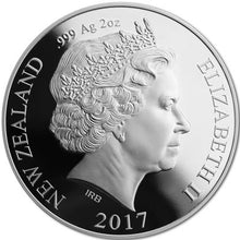 2017 NZ $1 Decimal Currency 2oz Silver Proof