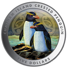 2020 NZ $5 Crested Penguin 2oz Silver Proof