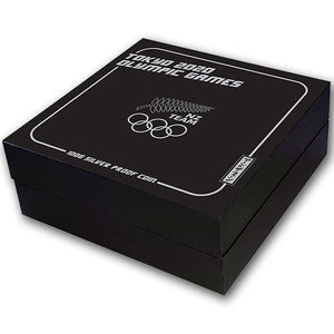 2020 NZ $1 100 Years Olympic Games 100g Silver Proof Coin