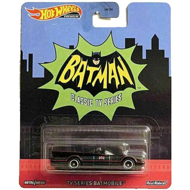 Hot Wheels Retro - '66 TV Series Batmobile Die Cast Collectable Car