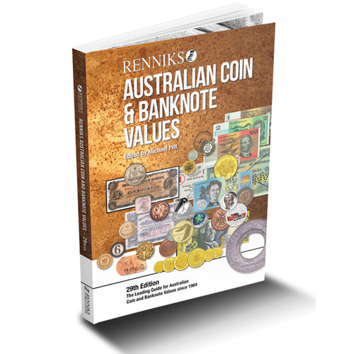 Renniks Australian Coin & Banknote Values 29th Edition