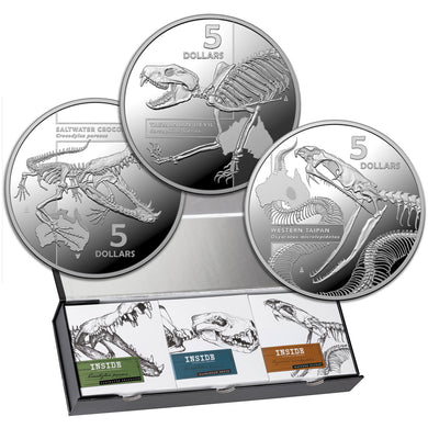 Complete 2020 $5 Australia's Most Dangerous 1oz Silver Proof Collection