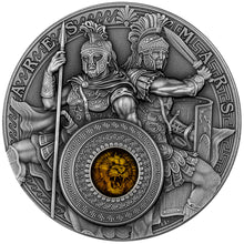2021 Niue $5 Ares and Mars 2oz Silver Coin