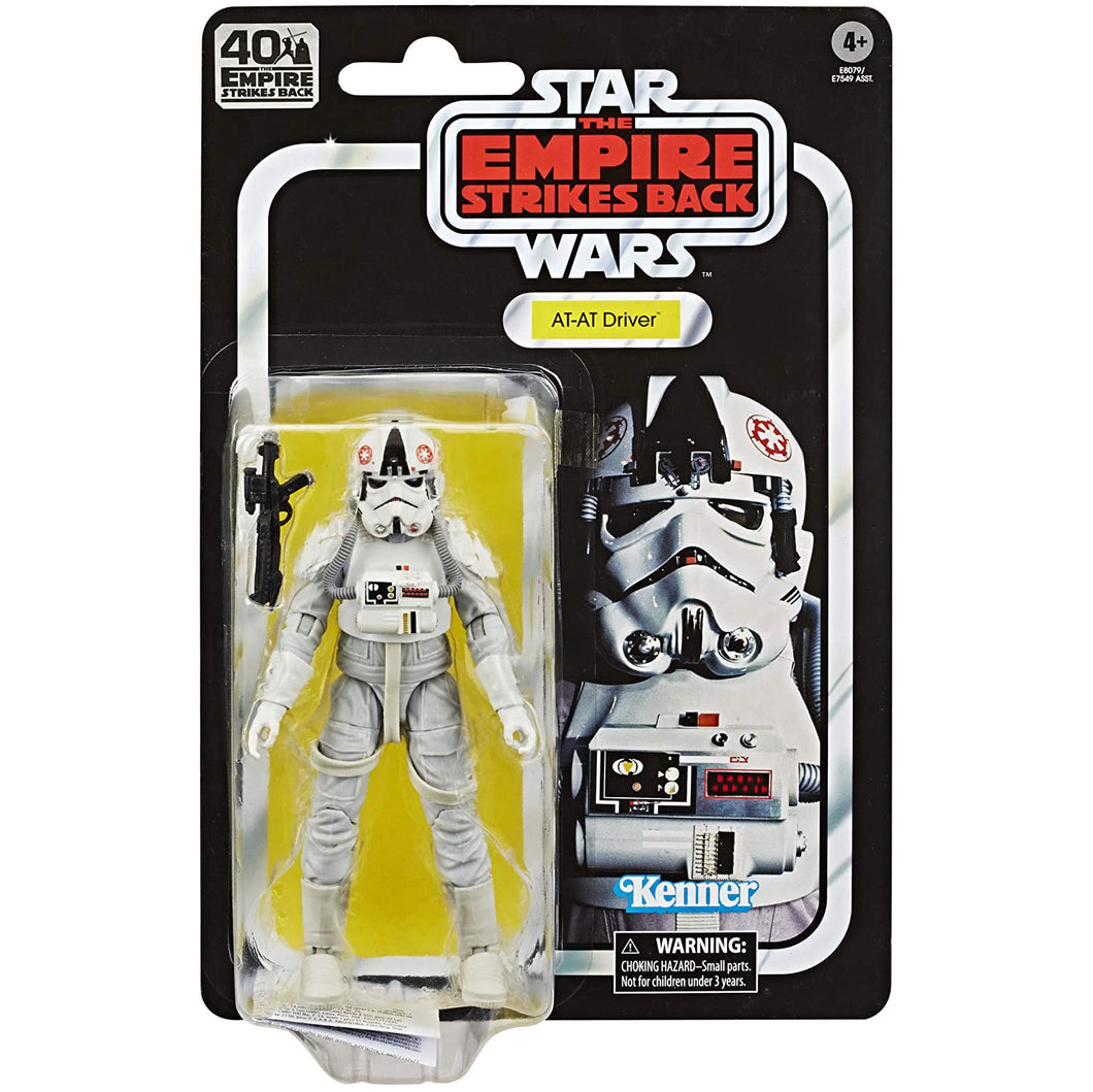 Star Wars Black Series 40th Ann. Empire Strikes Back - AT-AT Driver 6 inch Action Figure