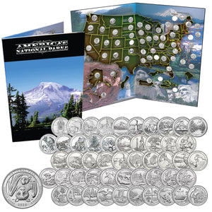 2010-2021 America the Beautiful Quarters Collection Unc