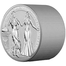 2020 50 Mark Germania & Italia 10oz Silver BU