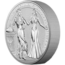 2020 10 Mark Germania & Italia 2oz Silver BU