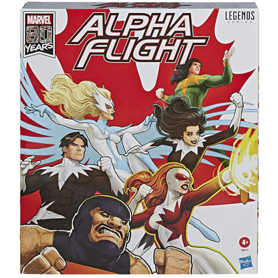 Marvel Legends Classic Alpha Flight 6 inch Action Figure 6-Pack