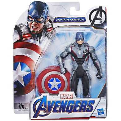 Marvel Avengers Movie 6 inch Captain America Action Figure