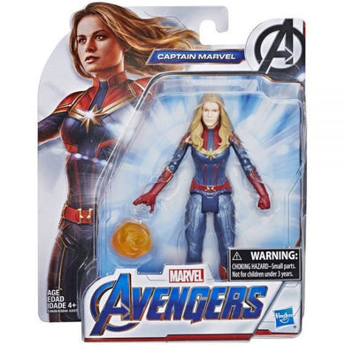 Marvel Avengers Movie 6 inch Captain Marvel Action Figure