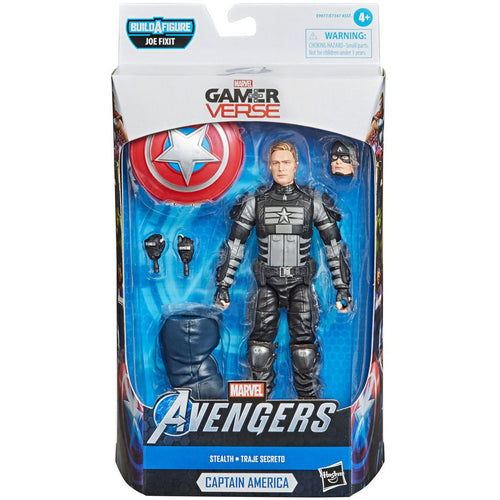 Marvel Legends Avengers Game Captain America 6-inch Action Figure