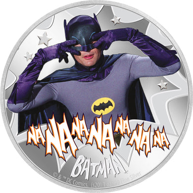 2020 Niue $2 Batman '66 - Batman 1oz Silver Proof