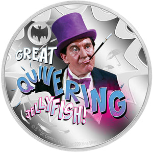 2020 Niue $2 Batman '66 - Penguin 1oz Silver Proof